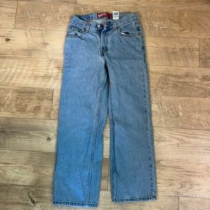 Levi's 505 Relaxed Fit Jeans 14 regular 27x27